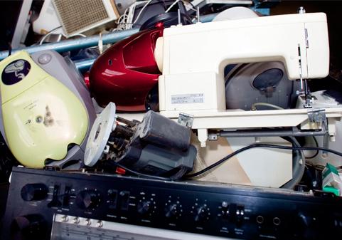 Elektrische apparaten inleveren blokker