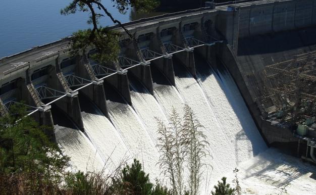 energie uit water